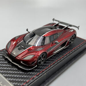 FrontiArt AvanStyle 1:43 Scale Koenigsegg AGERA RS Wine Red Car Model Collection