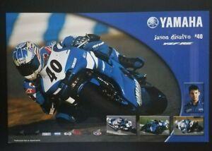 Vintage Poster Jason Disalvo 2006 Yamaha YZF R6 Supersport Superbike