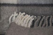 Wolldecke Tagesdecke Wohndecke Plaid aus 100% Schurwolle 145x210cm *öko Natur
