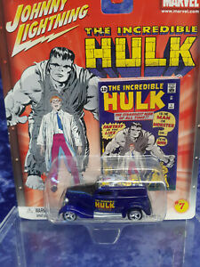 Johnny Lightning The Incredible Hulk 7 MOC 1933 Ford Delivery