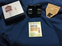 Vintage View-Master Model C Bakelite Viewer With Original box Sawyers Viewmaster