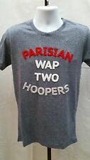 New Wap Two Tony Parker Spurs French A Franchise Gray T Shirt Size M  A127