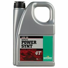 Motorex Motorcycle Racing Power Synt 10W/50 4T Engine Oil 4 Litre