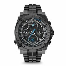 Bulova 98B229 Precisionist Chronograph Gunmetal Stainless 300M Men's Watch