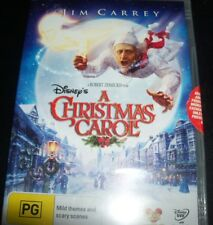 A Christmas Carol (Jim Carrey) - Disney / Disney's (Australia Region 4) DVD New