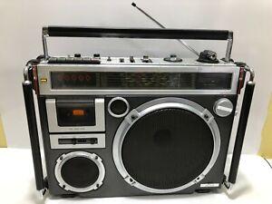 JVC RC-550W Vintage BOOMBOX Stereo FM Cassette / Rare Old School