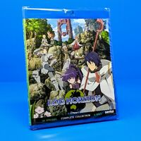Log Horizon Complete Anime Series Seasons 1 & 2 Collection Blu-ray NEW SEALED