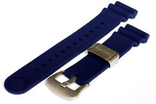 Divers 22mm Silicone strap for Seiko 6306/6309/7S26/7002 watches - Blue