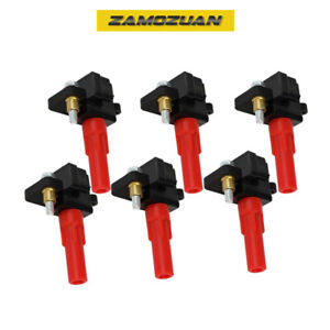 OEM Quality Ignition Coil 6PCS. for 01-09 Subaru Legacy, Outback, Tribeca, UF287