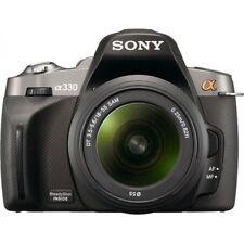 Sony Alpha A330 with 18-55mm lens Digital SLR Camera kit - Black