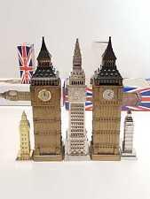 36cm Big Ben Collectable Vintage Style Tin Plate Model London Souvenir Moneybox
