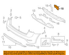 KIA OEM 14-16 Forte Koup Rear Bumper-Bracket Left 86641A7510