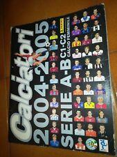 album calciatori panini 2004 2005 non completo - circa 50% di figurine