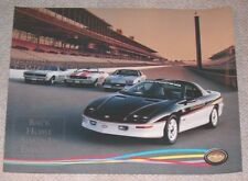 1993 Camaro Pace Car Poster