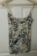 ARITZIA Wilfred Womens Camisole Tank Top Bustier Jungle Animal Size M
