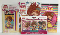 4 Fancy Nancy Jumbo Coloring Activity Book Pencil Set 3 Crayon Sets Sticker Book