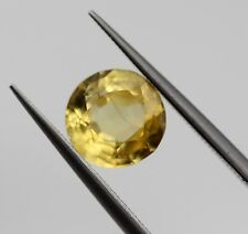 1.34 Ct Natural Golden Yellow Sapphire Loose VS Eye Clean Top Luster No Heat Gem