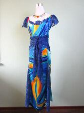 Unbranded Scoop Neck Short Sleeve Maxi Dresses for Women