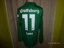 "VfL Wolfsburg Nike Langarm Matchworn Trikot 2007/08 ""TIGUAN"" + Nr.11 Laas Gr.M"