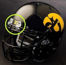 "IOWA HAWKEYES Football Helmet FRONT TEAM NAMEPLATE Decal/Sticker ""BIG"""
