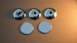 Chrome Door Key Lock Trim Cover Set 5Pc To Fit Ford Transit Connect (2002-12)