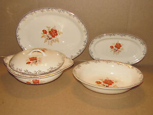 Sears & Roebuck Four Piece Serving Set
