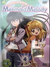 dvd MERMAID MELODY Principesse sirene HOBBY & WORK numero 4