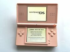 Nintendo DS Lite Original Handheld System Games Console Pink + Charger