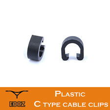 30 / 500pcs Plastic Bicycle Brake Cable Buckle Disc Brake Cable Pipe Line Clip