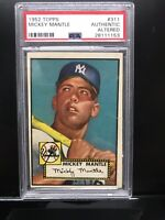 1952 Topps #311 Mickey Mantle Psa Authentic New York Yankees RC *Looks Vg-Ex 4*