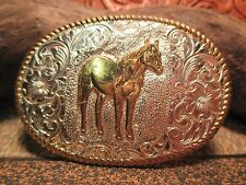 USA Made Old Store Inventory STANDING QUARTER HORSE Belt Buckle MAKE OFFER