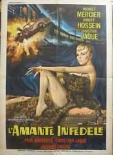 La SECONDE VERITE The SECOND TWIN Italian 2F movie poster 39x55 MICHELE MERCIER