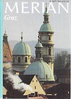 Merian Graz September 1978/ Heft 9/ 31. Jahrgang Großer Brauner Lipizzaner Wein