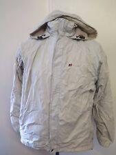 Genuine Berghaus Hooded AQUAFOIL Walking Jacket Coat UK 12 Euro 40 - Beige