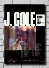 J Cole 4 Your Eyez Only World Tour Rapper Print Fabric 14x21 27x40 Poster T89