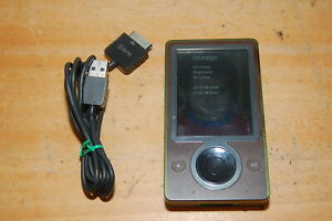 Microsoft Zune 30GB Digital Media Player Brown Model 1091 WORKS GREAT