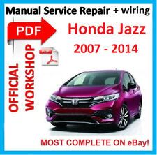 # OFFICIAL WORKSHOP MANUAL service repair FOR HONDA JAZZ 2007 - 2014