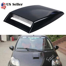 Car Decorative Cell Air Flow Intake Hood Scoop Bonnet Vent Cover Universal US