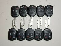 LOT OF 10 REPLACEMENT FORD Button Keyless Entry Remote Key Fobs