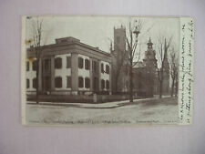 VINTAGE POSTCARD TOWN VIEW W/SEVERAL BUILDINGS IN DELAWARE OHIO 1906 UDB