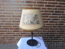 Antike Tischlampe Lampe Leucht Schreibtischlampe Gusseisen Antik