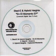 (AB586) Sted-E & Hybrid Heights, En El Momento EP DJ CD