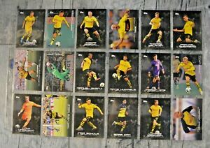 Topps Fußball Bundesliga Borussia Dortmund 2019/20-18 verschiedene Trading Cards