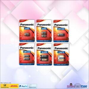 Panasonic Photo Spezial Batterie Foto CR123A CR2 2CR5 CR-P2 MHD 2029