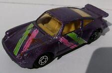 PORSCHE 911 TURBO 3.0 Typ 930 1974–1977 violet metallic Maisto 2-türig c.a 1:60