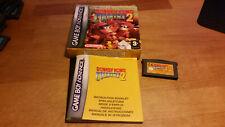 Donkey Kong Country 2 Game Boy Advance GBA OVP CIB Boxed