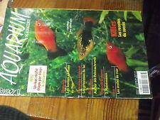 $$ Revue Aquarium Magazine N°176 Killies  Pelvicachromis  Scalaires  Etoiles mer