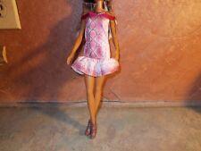 Mattel Snake Print Dress Necklace Heels B289