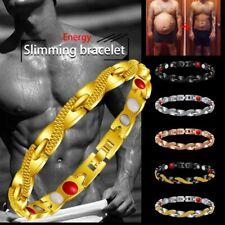 Fashion Men's Stainless Steel Keel Chain Link Bracelet Wristband Bangle Jewelry