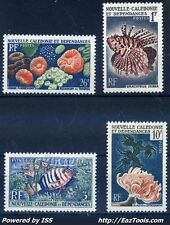 NOUVELLE CALEDONIE SERIE N° 291/294 NEUF * AVEC CHARNIERE (BL)